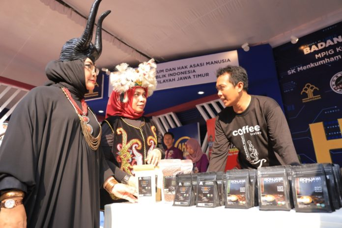 Gelar East Java Law Festival 2019, Kemenkumham Jatim Pamer Hasil Karya WBP